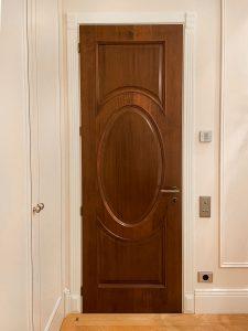 Установка двери для спальни