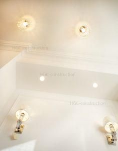 Освещение на кухне с подвесной потолком сделать