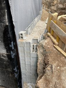 Защитная конструкция вокруг дома