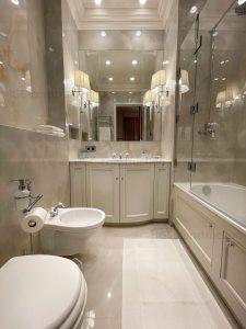 Люксовый интерьер ванной заказать ницца