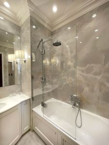 Люкс ванна с фартуком монтаж профессионально ницца