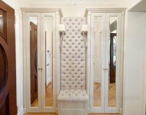 Встроенная Мебель для прихожей на заказ доставка Ницца