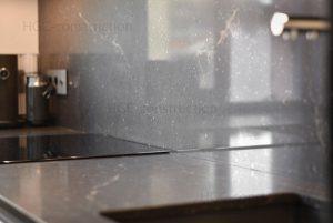 Облицовка из мрамора в дизайне кухни