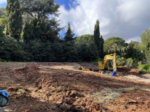 Планировка земельного участка под строительство