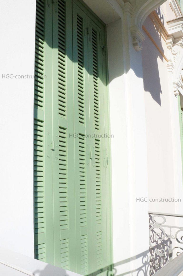 Реставрация ставней профессионально в Ницце