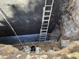 Строительство дренаж глубина 5 метров
