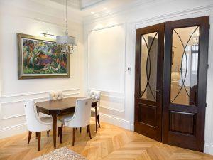 Установка двухстворчатых дверей специалист ницца