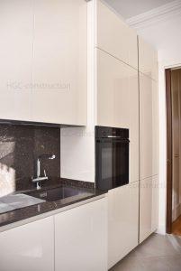 кухня в стиле минимализм эконом